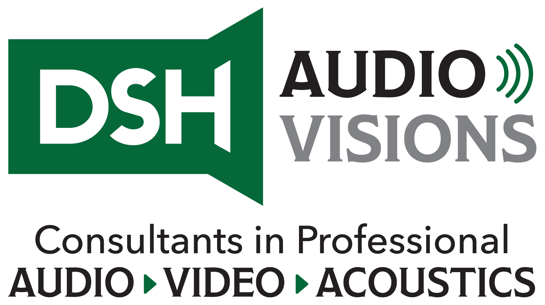 DSH Audio Visions LLC Logo